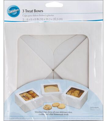 Wilton Large Treat Box-White