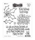 Ranger Dylusions Holly Days Cling Stamps