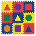 Carpet Tiles, Shapes, 12\u0022 x 12\u0022, 9 Count