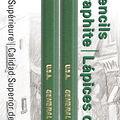 Kimberly Graphite Drawing Pencils 2/Pkg-6B