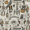Halloween Cotton Fabric -Trickery