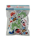 Little Makers Adhesive Foam Stickers-Bugs