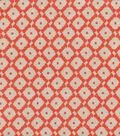 Keepsake Calico Cotton Fabric 44\u0022-Abacus Tangerine