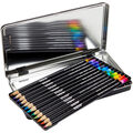 Crayola Signature Tri-Color Pencils W/Tin 12pk