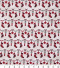 Christmas Cotton Fabric-Stitched Stocking