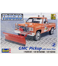 Plastic Model Kit-GMC Pickup with Snow Plow