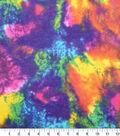 Anti-Pill Fleece Fabric -Rainbow Water