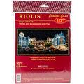 RIOLIS Combopu Cama 19.75\u0027\u0027x9.75\u0027\u0027 Counted Cross Stitch Kit-Evening Cafe