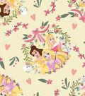 Disney Princess Knit Fabric 58\u0027\u0027-Princess Friends