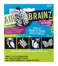 AirBrainz Airbrush Stencils 4/Pkg-Great Outdoors 4\u0022X4\u0022