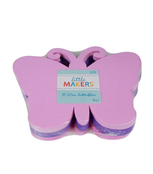 Little Makers Foam Shapes-Butterfly