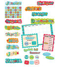 Dots-On-Turquoise Collection: Calendar Bulletin Board Set