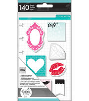 The Happy Planner Girl Glam Girl Collection Mini Sticky Notes, , hi-res