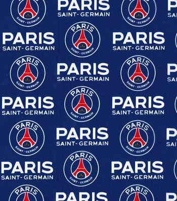 Paris Saint-Germain Football Club Cotton Fabric 44''