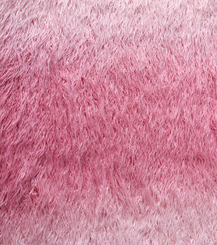 Faux Fur Fabric-Pink Ombre
