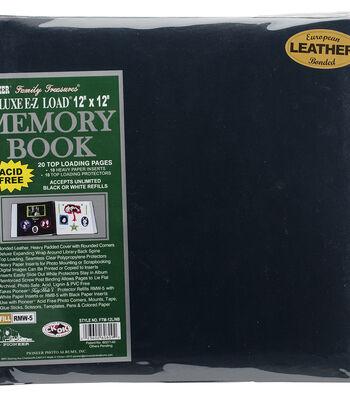 """Pioneer Deluxe 12""""x12"""" Bonded Leather Scrapbook Album"""