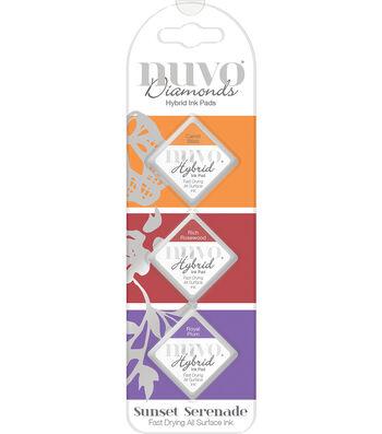Nuvo Diamonds 3 pk Hybrid Ink Pads