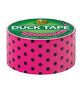 Printed Duck Tape Br& Duct Tape 1.88 in. x 10 yd.-Polka Dot