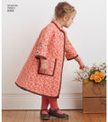 Simplicity Pattern 8305 Children\u0027s Coat & Jacket-Size A (3-4-5-6-7-8)