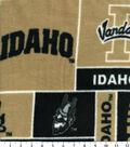 University of Idaho Vandals Fleece Fabric 60\u0022-Block