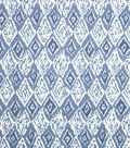 Home Decor 8\u0022x8\u0022 Fabric Swatch-Print Fabric Eaton Square Firebird Azure