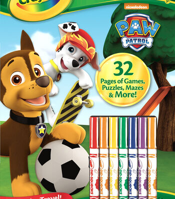 Crayola Color N Activity-Paw Patrol