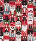 Christmas Cotton Fabric 45\u0022-Nutcracker Metallic