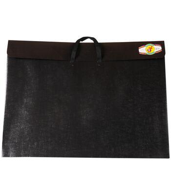 "Dura-Tote Classic Poly Portfolio W/Soft Handle 17""x22""-Black"