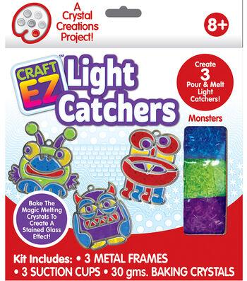 Craft EZ Oven Light Catchers-Monster