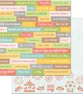 Weekend Adventures Double-Sided Cardstock 12\u0022X12\u0022-Good Vibes