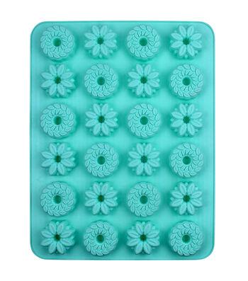 Easter 13.5''x10.5'' 24-cavity Silicone Mini Treat Mold-Bundt Cake