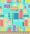 Party Party Party Print Fabric