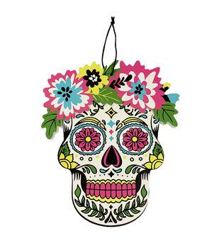 Maker's Halloween Day of the Dead Skull Wall Decor