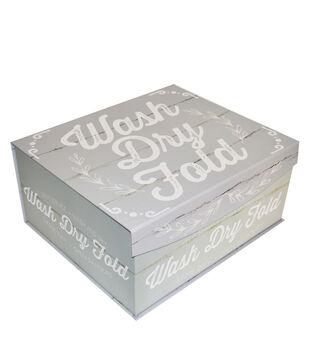 Large Fliptop Storage Box-Laundry Co