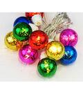 Maker\u0027s Holiday Christmas 10 ct Small Multicolored Mercury String Lights