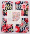 No-Sew Throw Fleece Fabric 72\u0022-Happy Days Floral