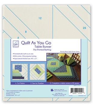 June Tailor Quilt As You Go Batting Table Runner-Morning Blend