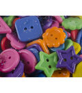 Large Assorted Novely Circus Buttons 1lb/Pkg-Multicolor