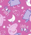 Peppa Pig Flannel Fabric 42\u0027\u0027-Land Of Nod
