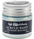 Prima Marketing Art Alchemy .17 oz. Acrylic Paint-Opal Magic Blue-Gold