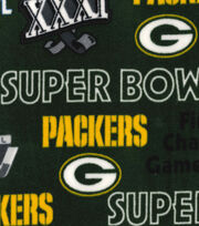 "Green Bay Packers Champion Legacy Fleece Fabric 58"", , hi-res"