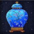 Diamond Dotz Diamond Embroidery Facet Art Kit 23.5\u0027\u0027X23.5\u0027\u0027-Blue Vase