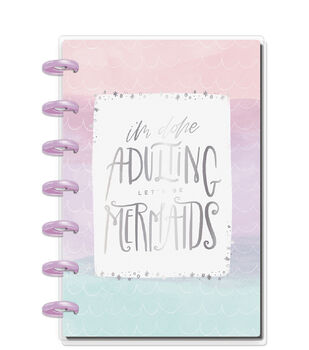 The Happy Planner Happy Notes Mini Notebook-Mermaid Vibes