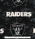 Oakland Raiders Fleece Fabric -Digi Camo