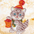 Diamond Dotz Diamond Embroidery Facet Art Kit 11\u0027\u0027X11.75\u0027\u0027-Christmas Kit