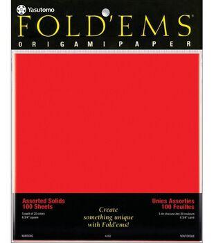 Fold 'Ems Origami Paper-100PK