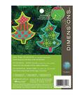 Dimensions 5.25\u0027\u0027x4.25\u0027\u0027 Tree Ornament Felt Counted Cross Stitch Kit