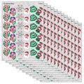 Trend Enterprises Inc. Christmas Joys Sparkle Stickers, 72 Per Pack