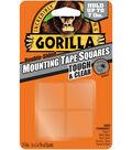 The Gorilla Glue Company 24 pk 1\u0027\u0027x1\u0027\u0027 Double-sided Mounting Tape Square