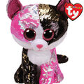Ty Inc. Flippables Medium Sequin Malibu Cat